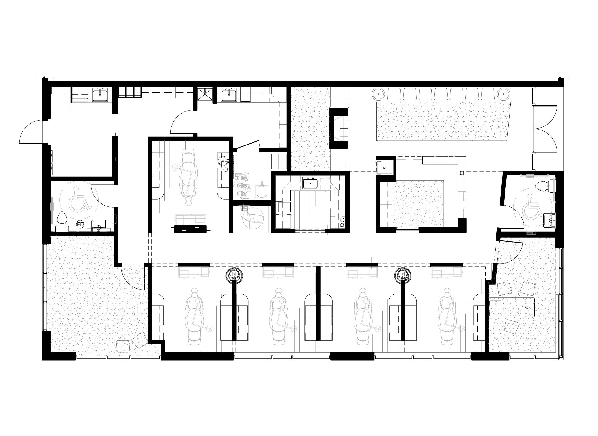 Bradburn Village Dentistry - Floor Plan