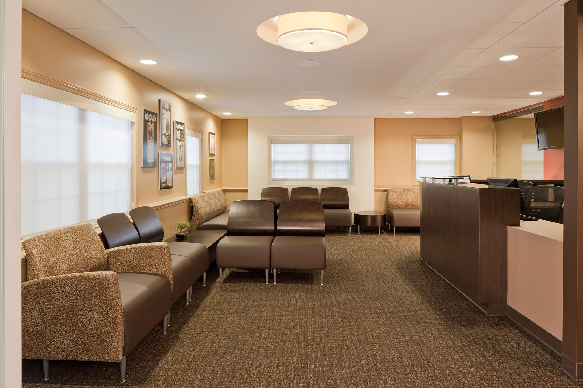 Dental Specialties Waiting Area
