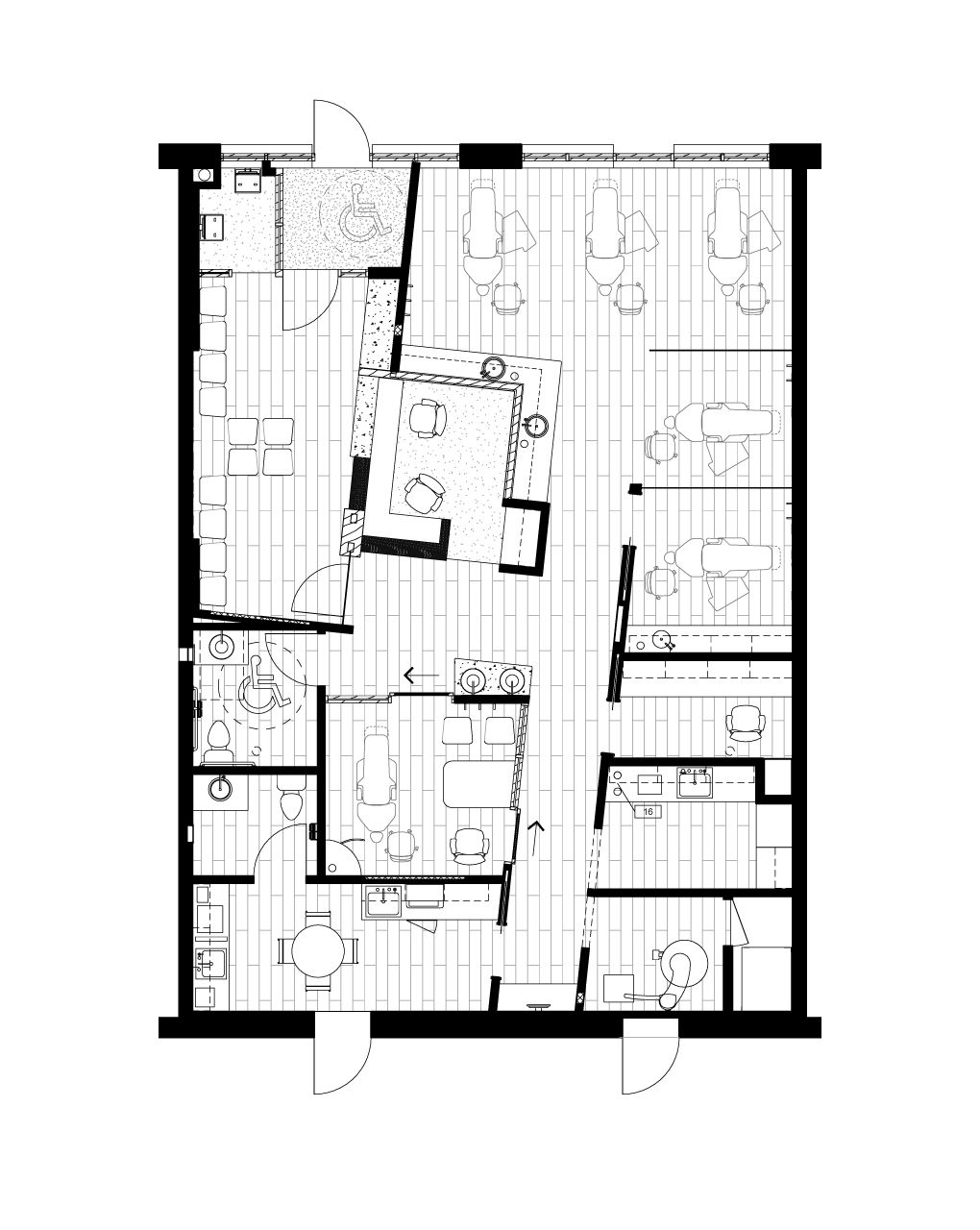 Tasios Orthodontics - Floor Plan