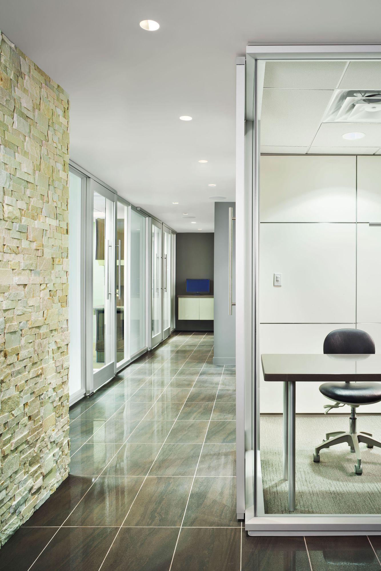 Bennett signature dentistry joearchitect dental office for Office hallway design