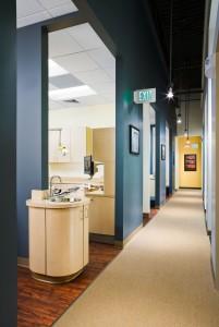 Bradburn Denistry Hallway