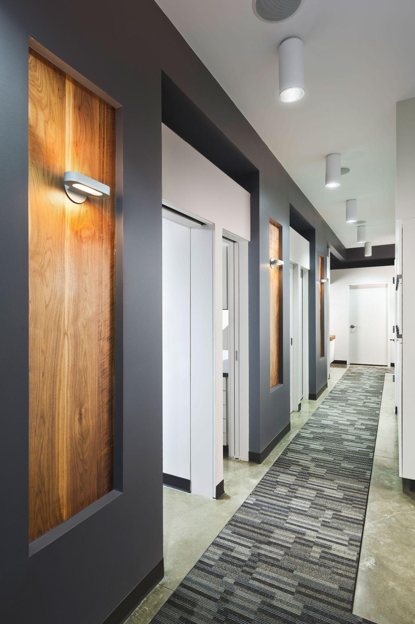 Corson dentistry joearchitect for Office hallway design