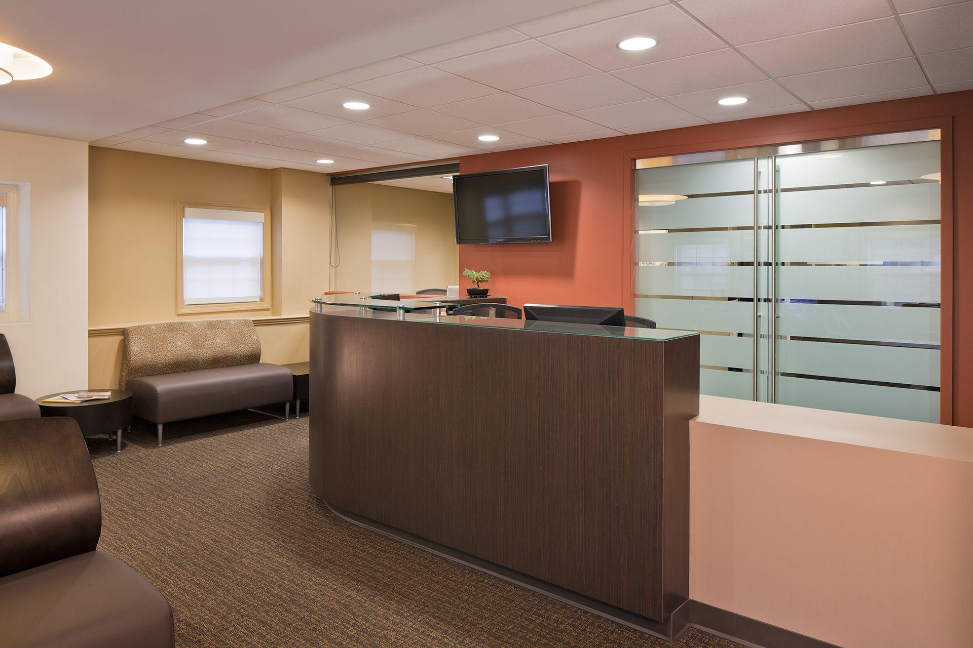 Dental Specialties Reception