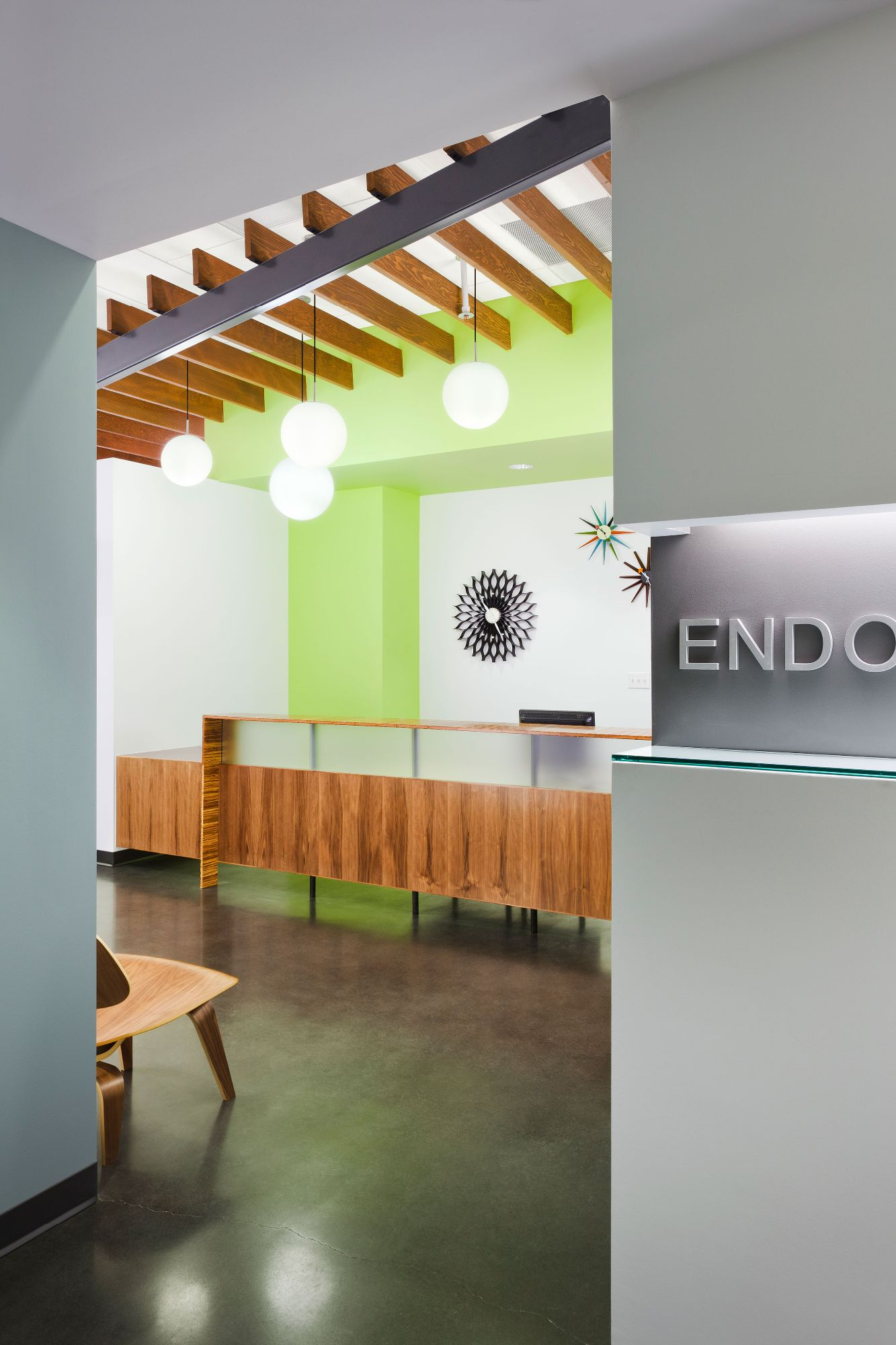 Endontics of Denver Reception front