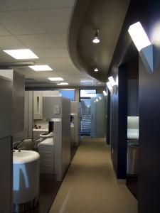Flatirons Endontics Hallway