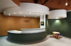 Ginther Family Dentistry Reception