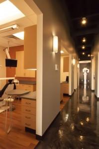 Harbor Dental Hallway