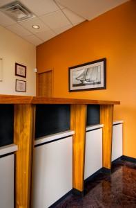 Harbor Dental Reception Desk