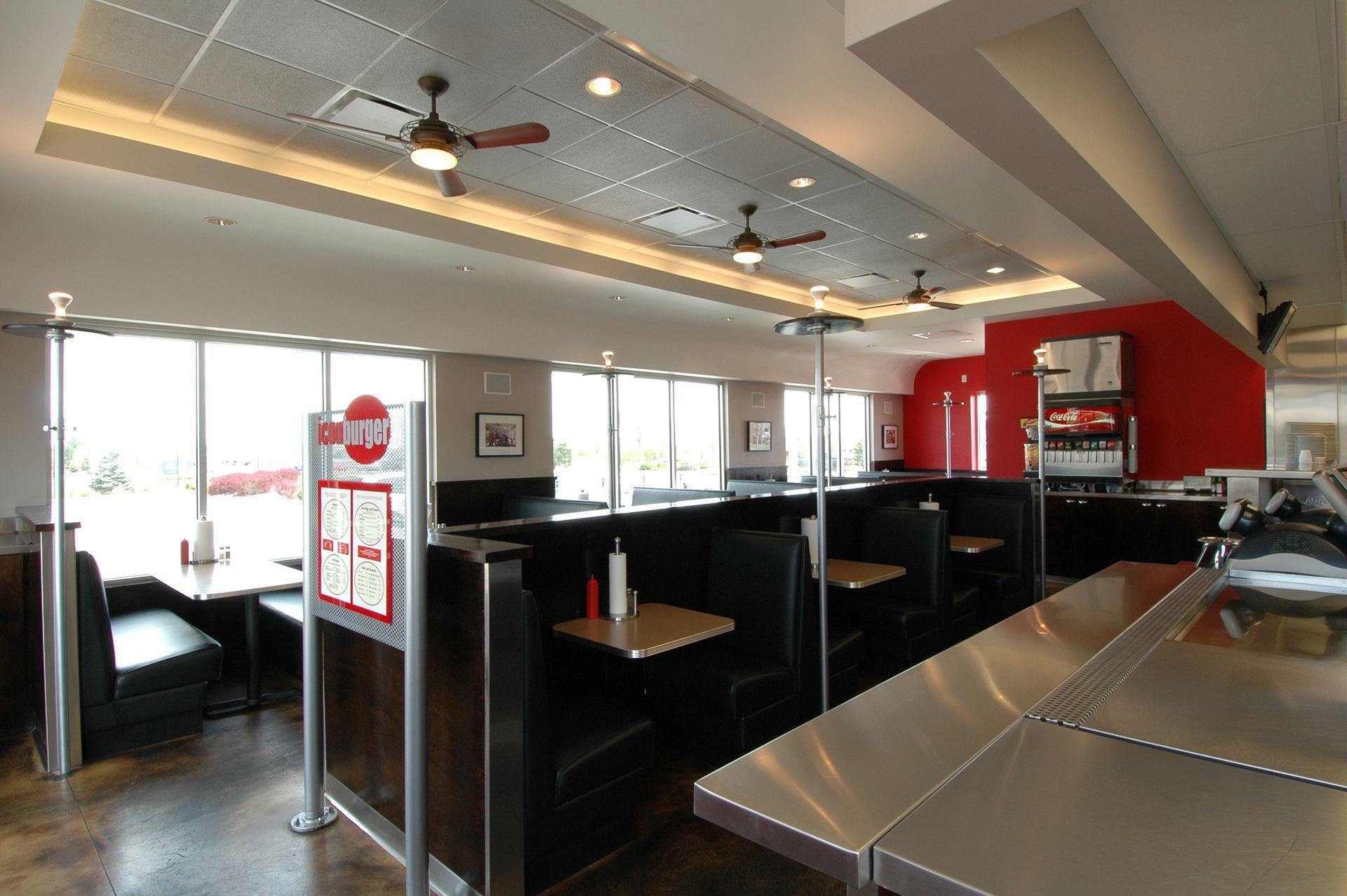Icon Burger Tables
