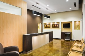 Meadows Family Dentistry Waiting Area