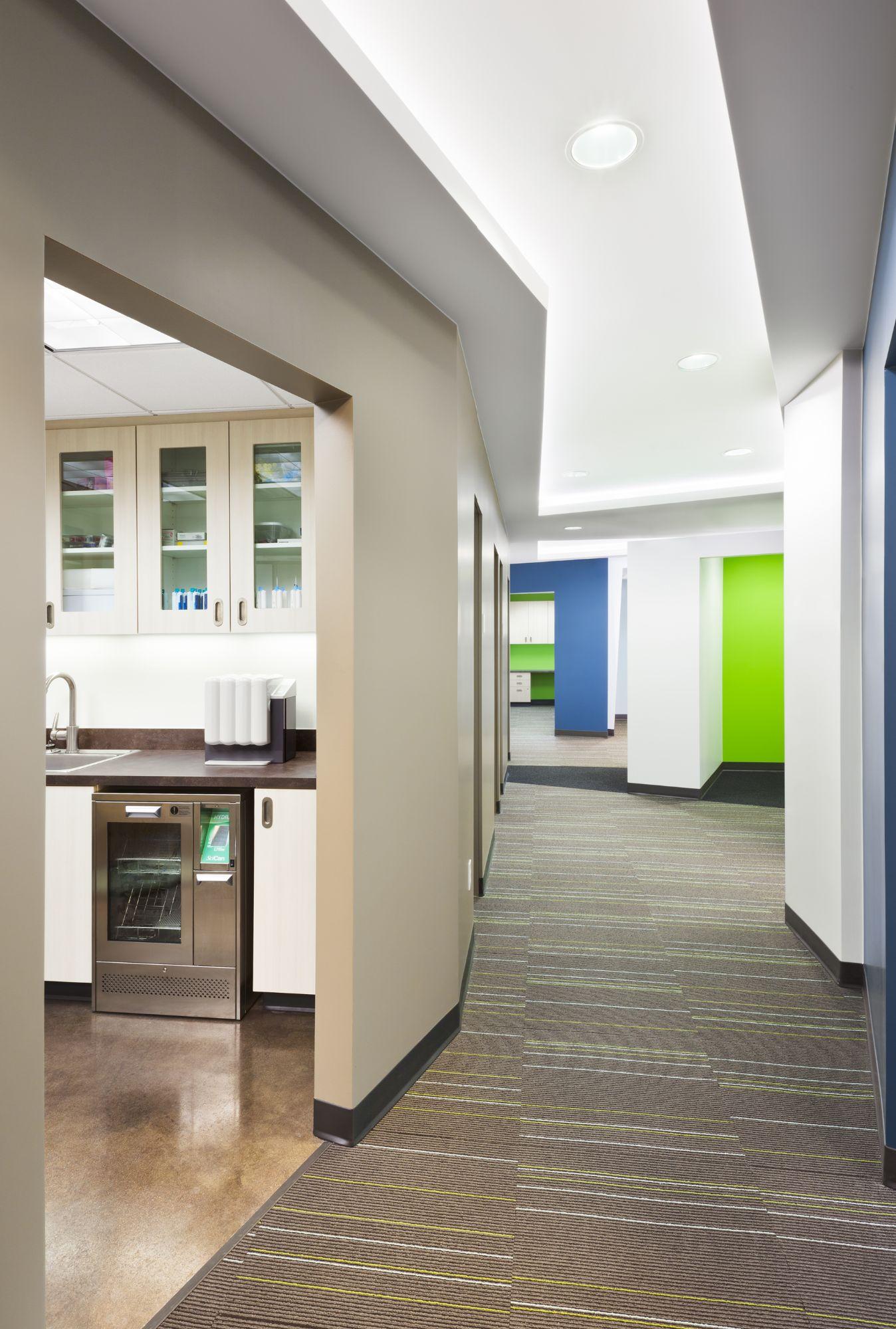 Riverfront Dental Hallway