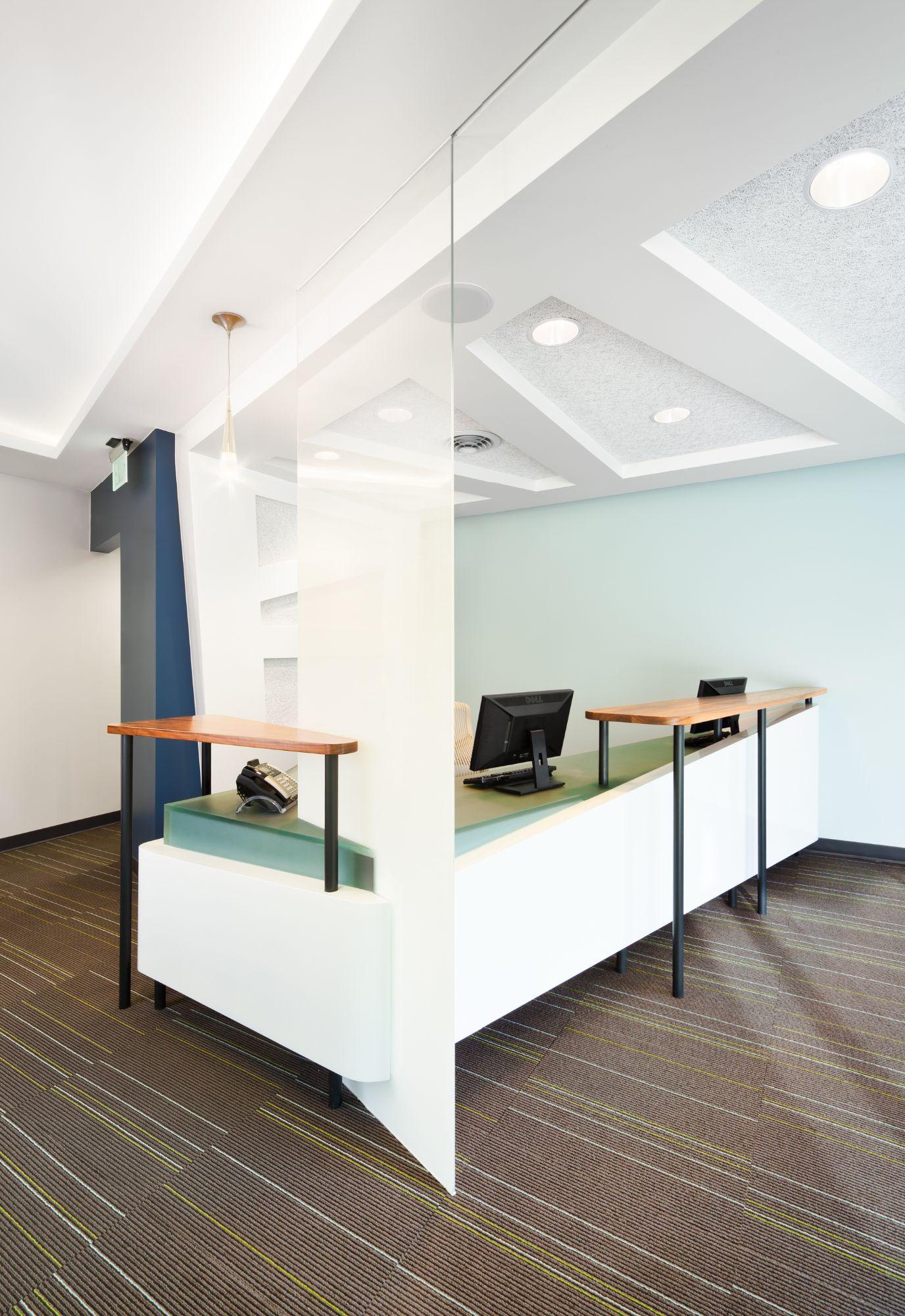 Riverfront Dental Reception Back