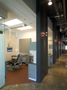 The Dental Shoppe Patient Area