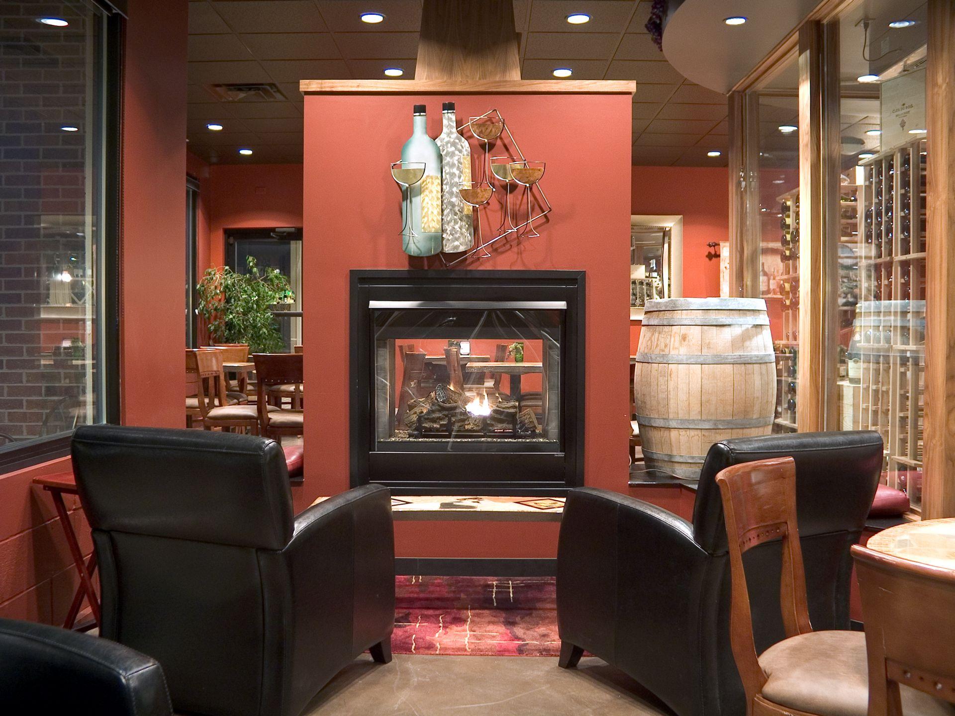 Vines Fireplace