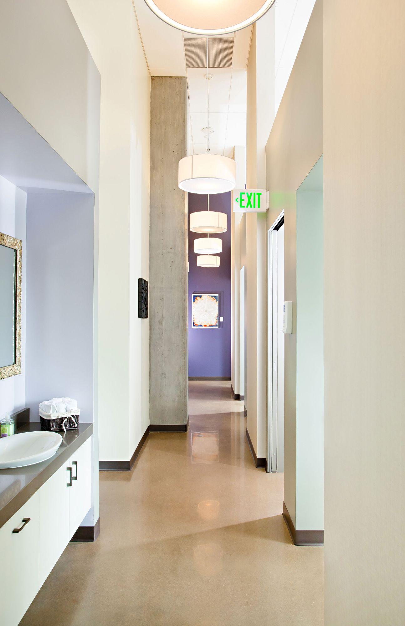 Wynkoop Dental Back Hallway