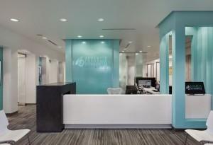 Advanced Orhto Reception Area