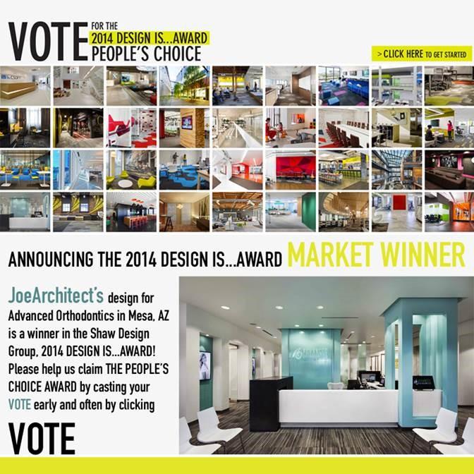 JoeArchitect wins People's Choice award