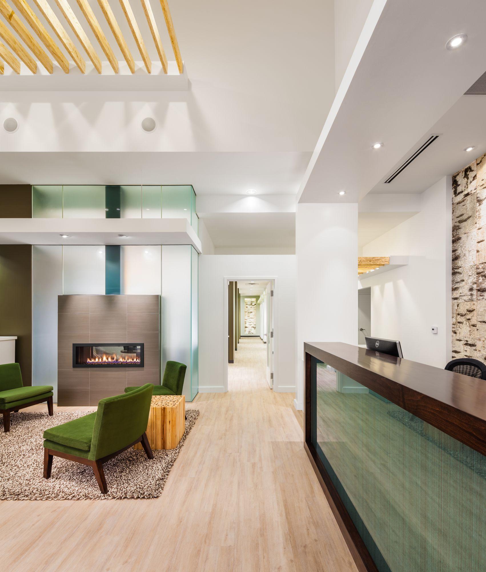 Dentistry at Golden Ridge - Fireplace