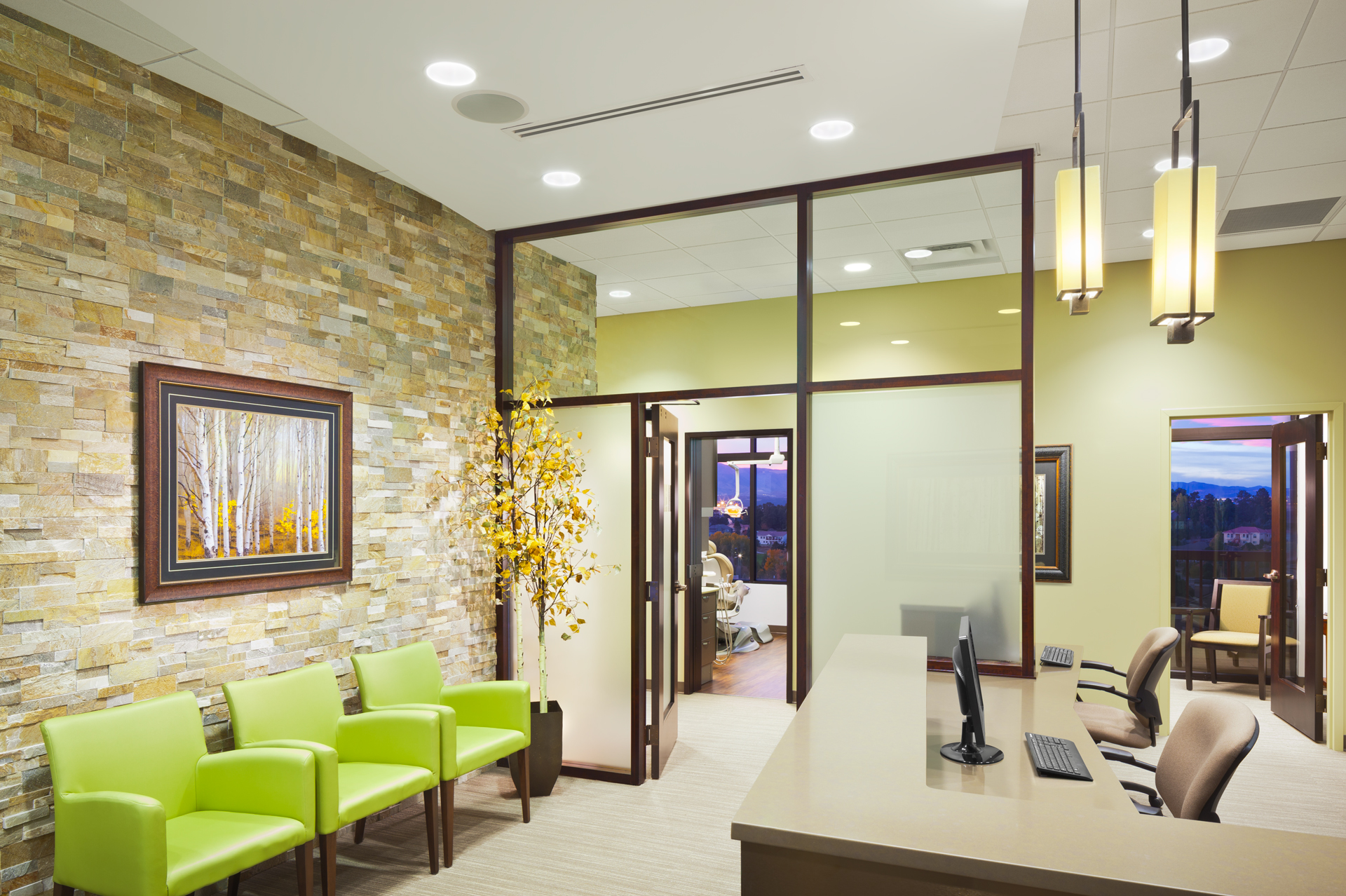Aspen Endodontics - Waiting & Reception